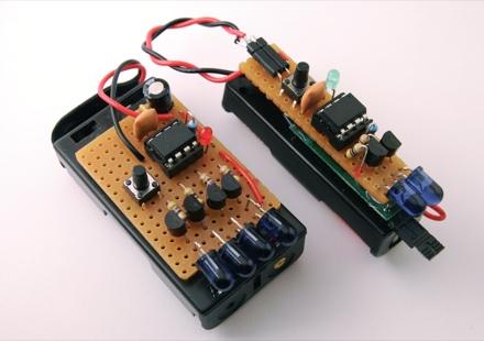 tv b gone clones tinkerlog Block Diagram Circuit Board