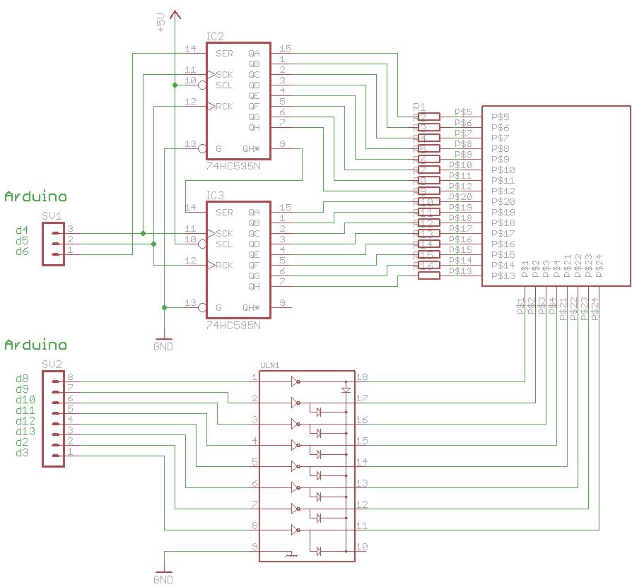 LED matrix projector | tinkerlog