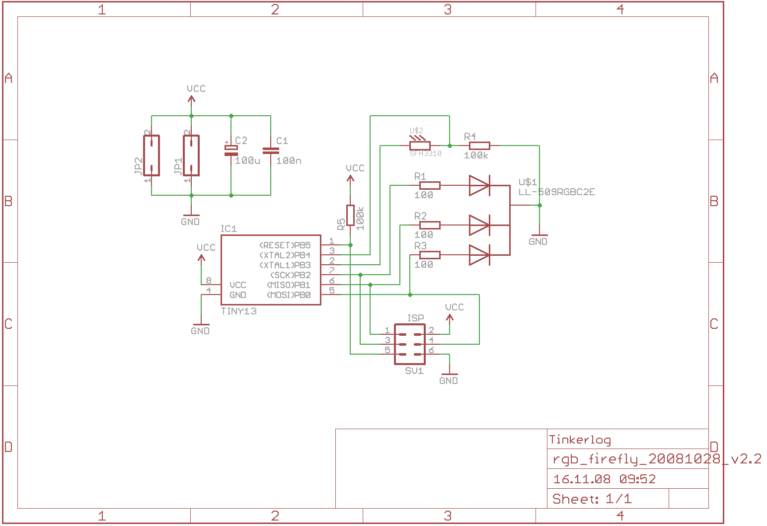 Synchronizing Firefly How To Tinkerlog Rgb Led Fashion Lighting Controller Circuit Schematic Circuits A Phototransistor