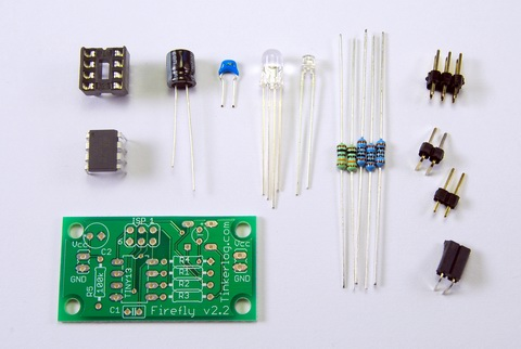 Parts for the Synchronizing Firefly