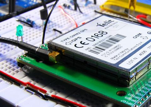Interfacing Arduino with a Telit GM862 | tinkerlog