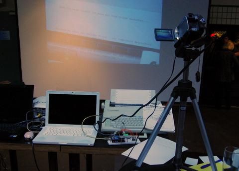 Final setup at CoreMedia Open Space