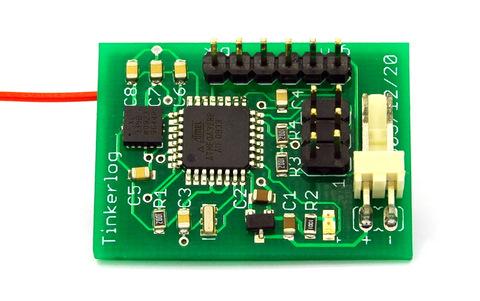ADXL335 + ATmega328 + RFM12B