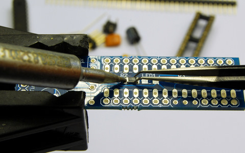 SMD soldering