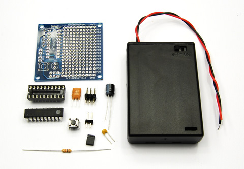 Parts for Tiny2313 Proto Board