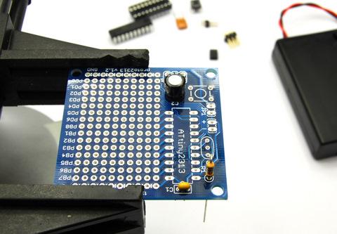 Insert resistor and capacitors