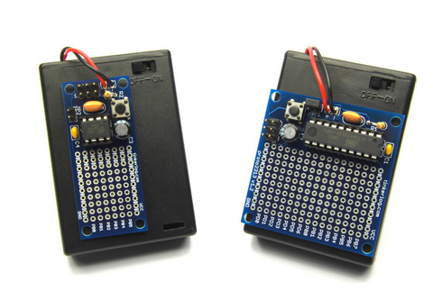 Tiny25 and Tiny2313 Proto Board