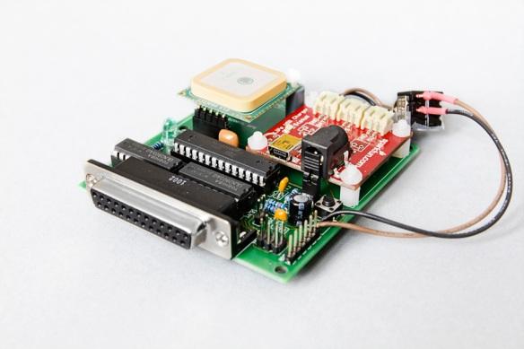 LED POV second prototype