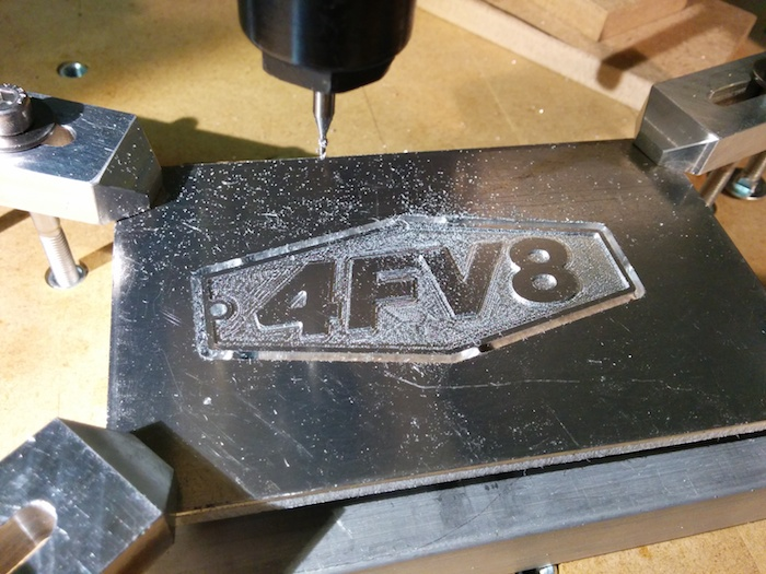 Milling a keychain