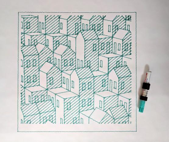 Cubic Cityscape